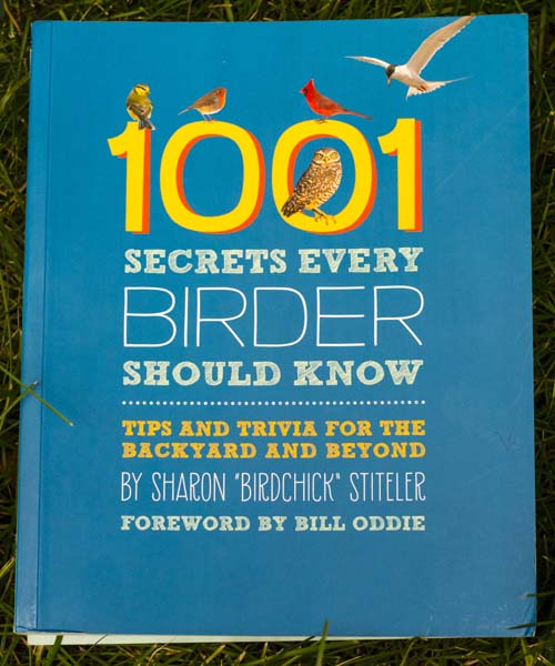 """1001 Secrets Every Birder Should Know"" by Sharon ""Birdchick"" Stiteler"