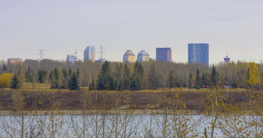 Calgary skyline Pentax K-5 + Sigma 150-500@150mm 1/320sec., ƒ/13, ISO 640