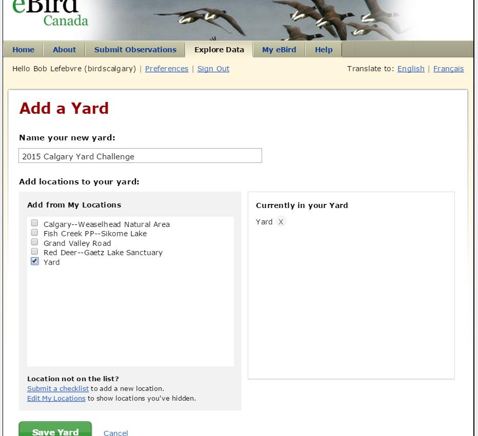 Add a Yard 4 Save