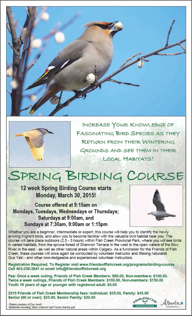 Spring Birding Course 2