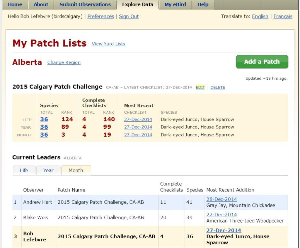 Edit Patch List 7