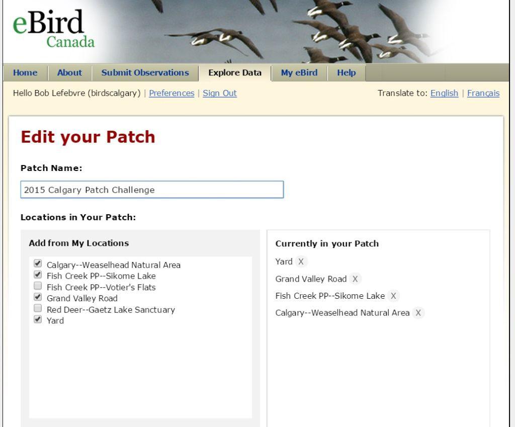 Edit Patch List 8